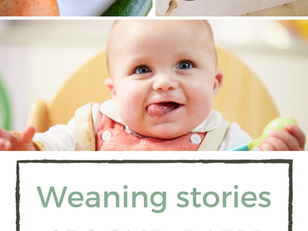 Weaning stories - weaning a second baby