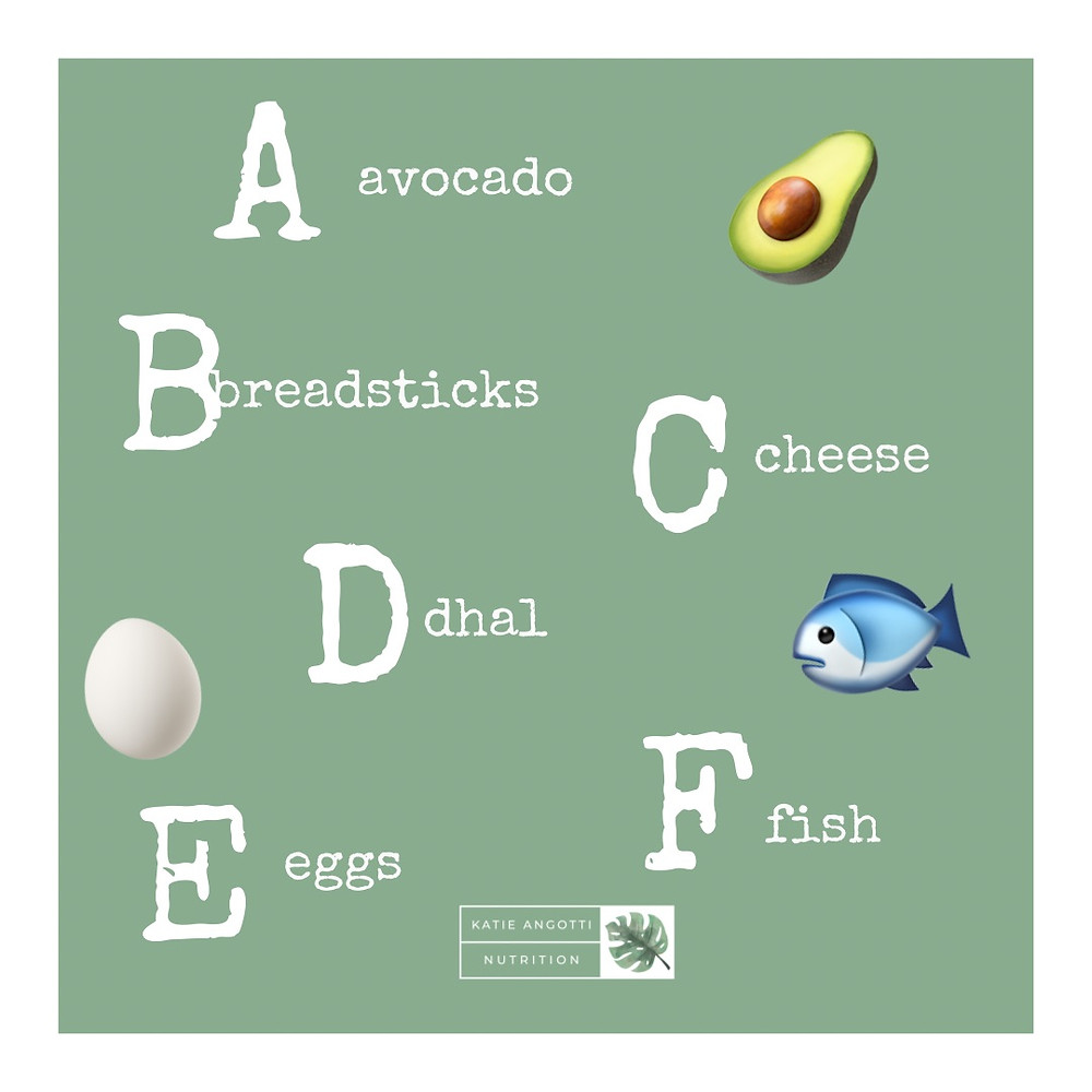 Weaning tips a - z of introducing solids foods for babies