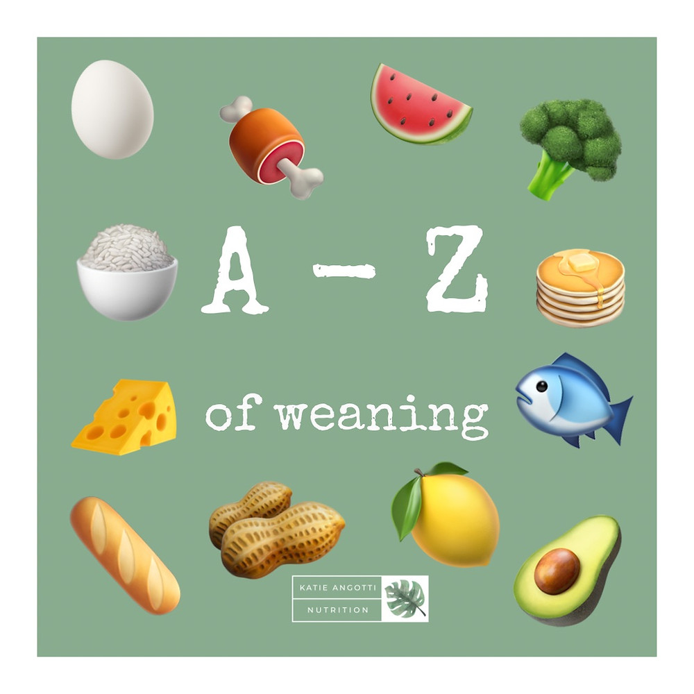 a - z of weaning ideas for introducing solids