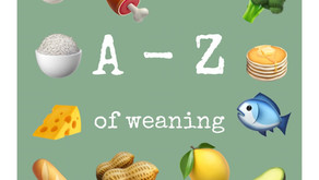 Introducing solids: The A-Z of weaning
