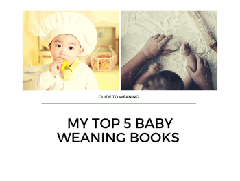 Guide to Weaning - 5 baby weaning books recommended by a baby nutritionist