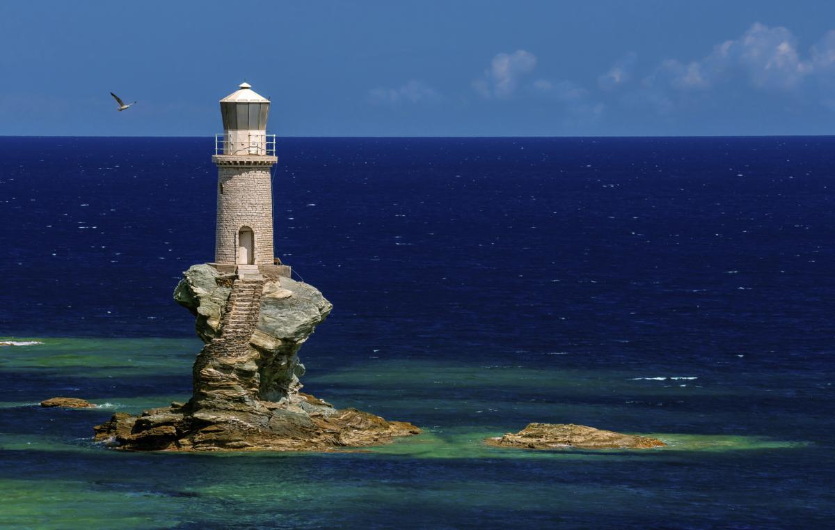 Faro in Grecia