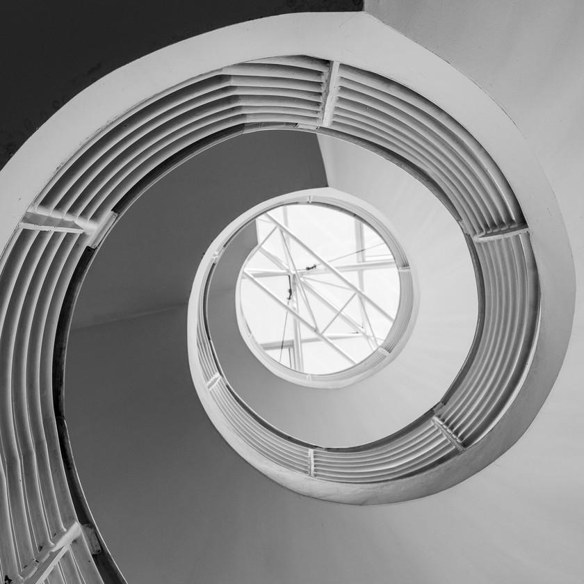 Spiraltreppe - Campus Riedberg