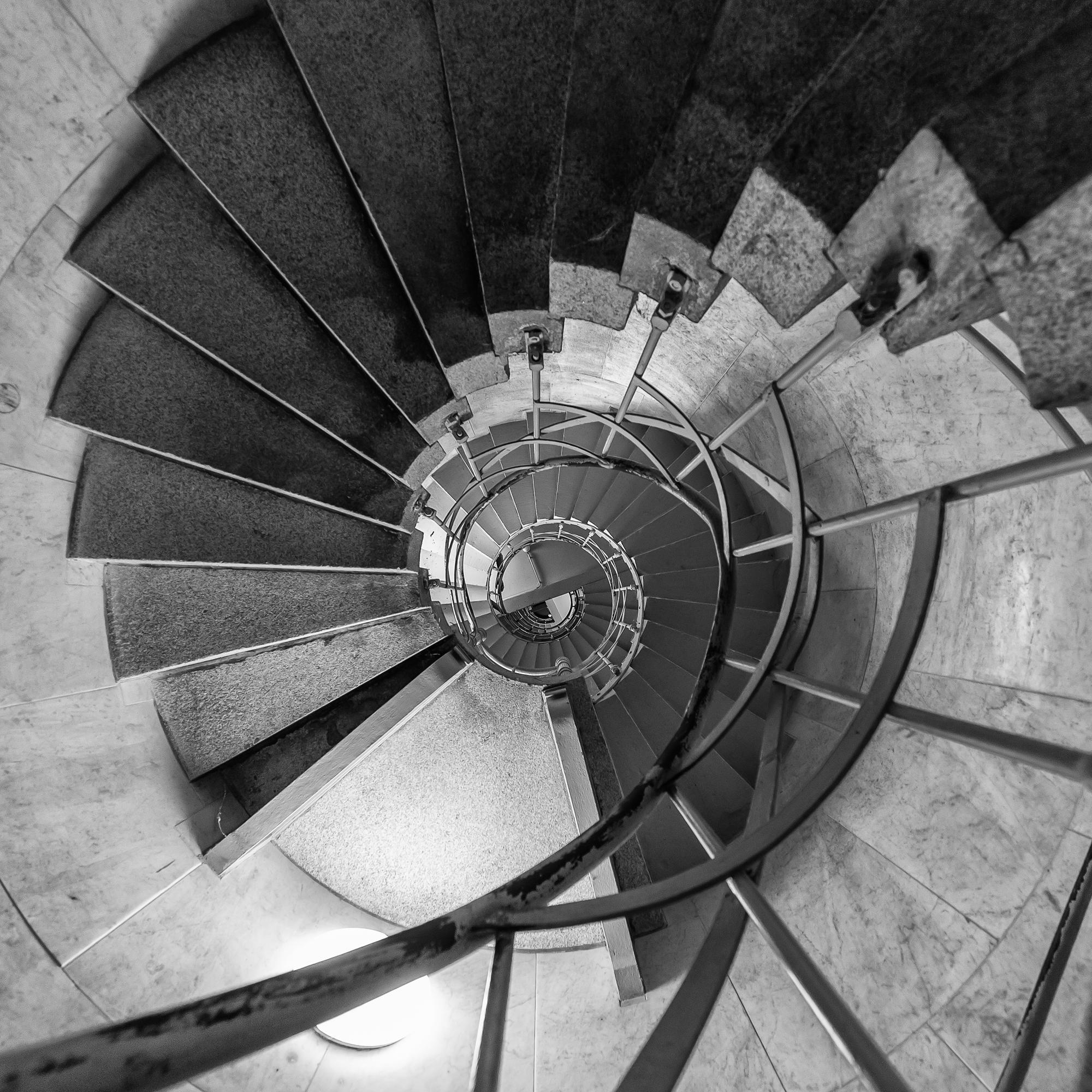 Spiraltreppe zur Siegessäule