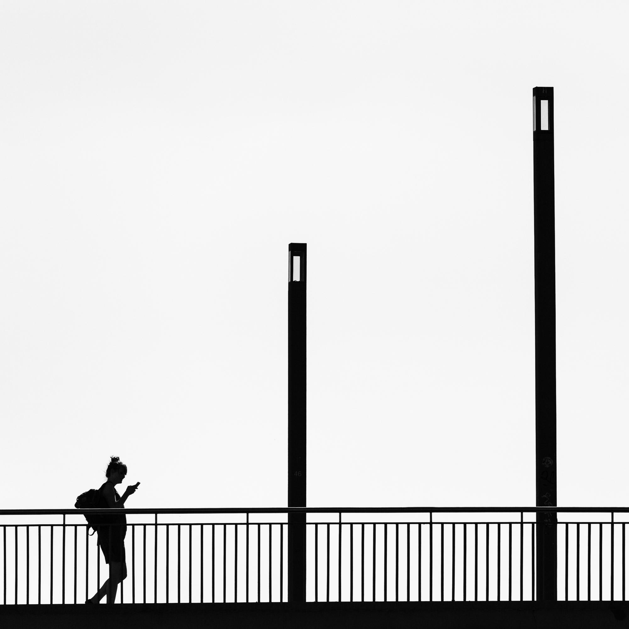 Streetfotografie an der Spree