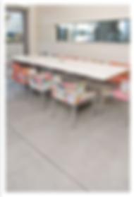 רצפת בטון מוחלק משתלבת עם כל עיצוב