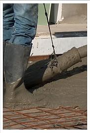 יציקת בטון מוחלק שלב שני