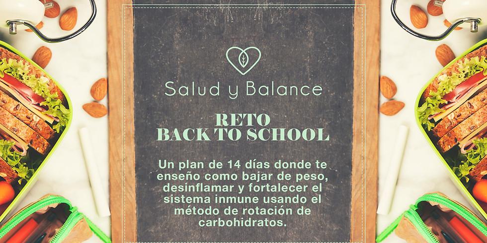 Reto Back to School