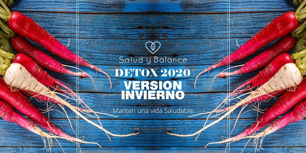 DETOX 2020 Versión Invierno