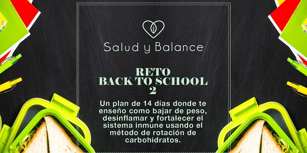 Reto Back to School 2