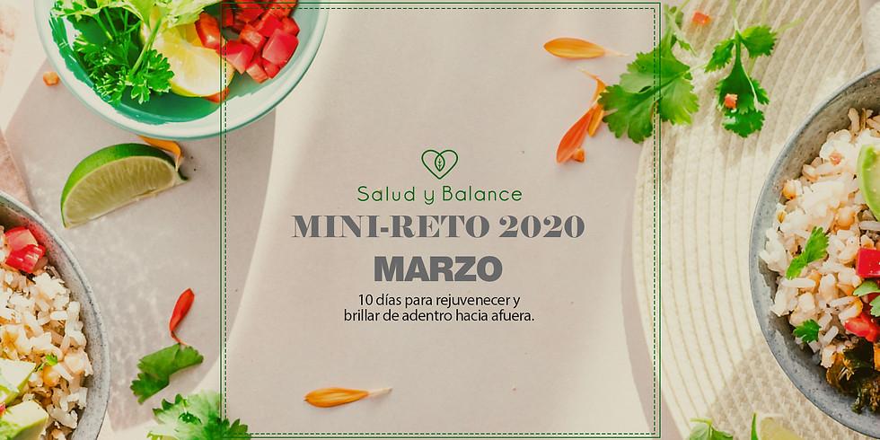 Mini-Reto 2020 Marzo