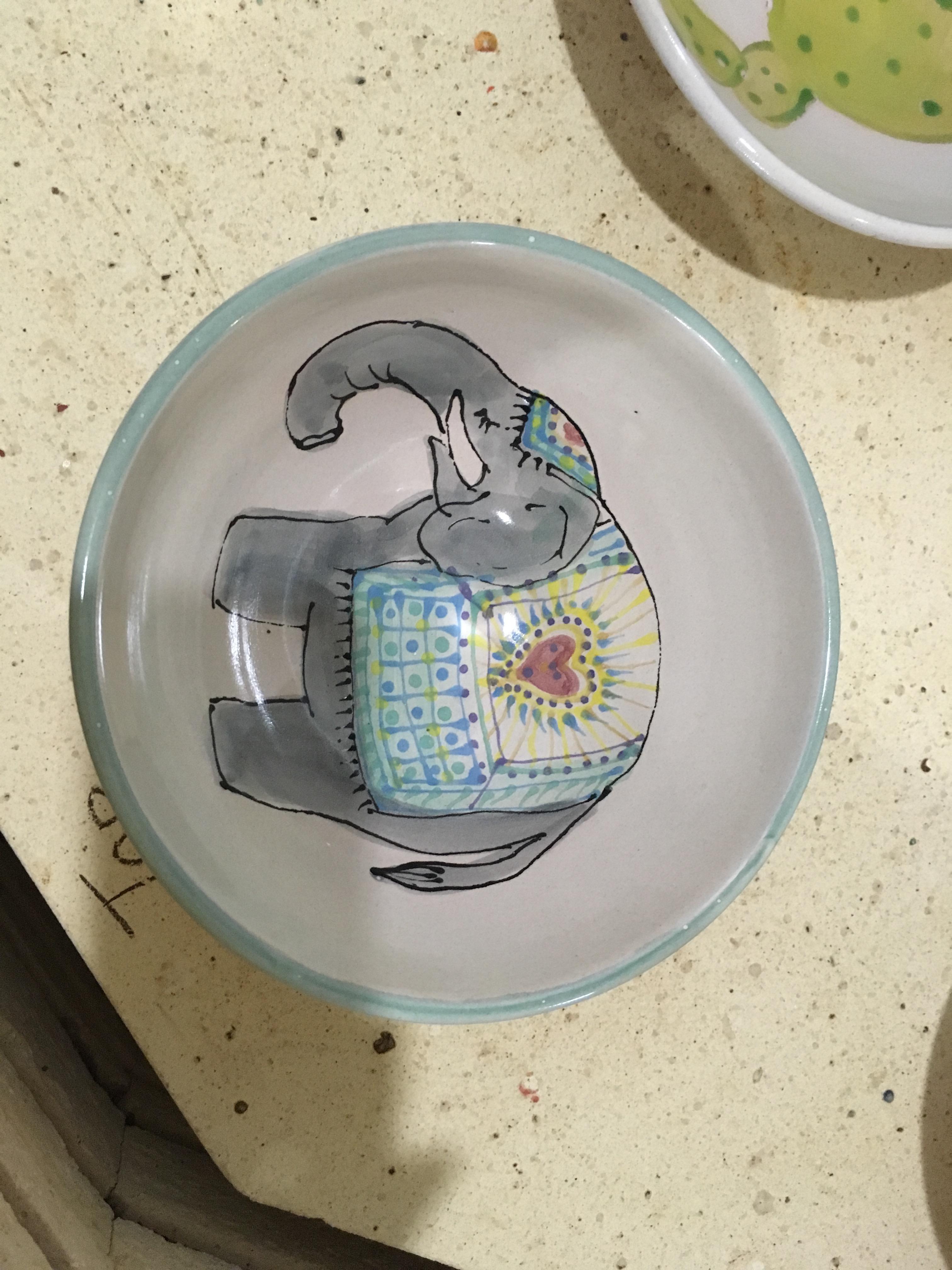 Non-political elephant!
