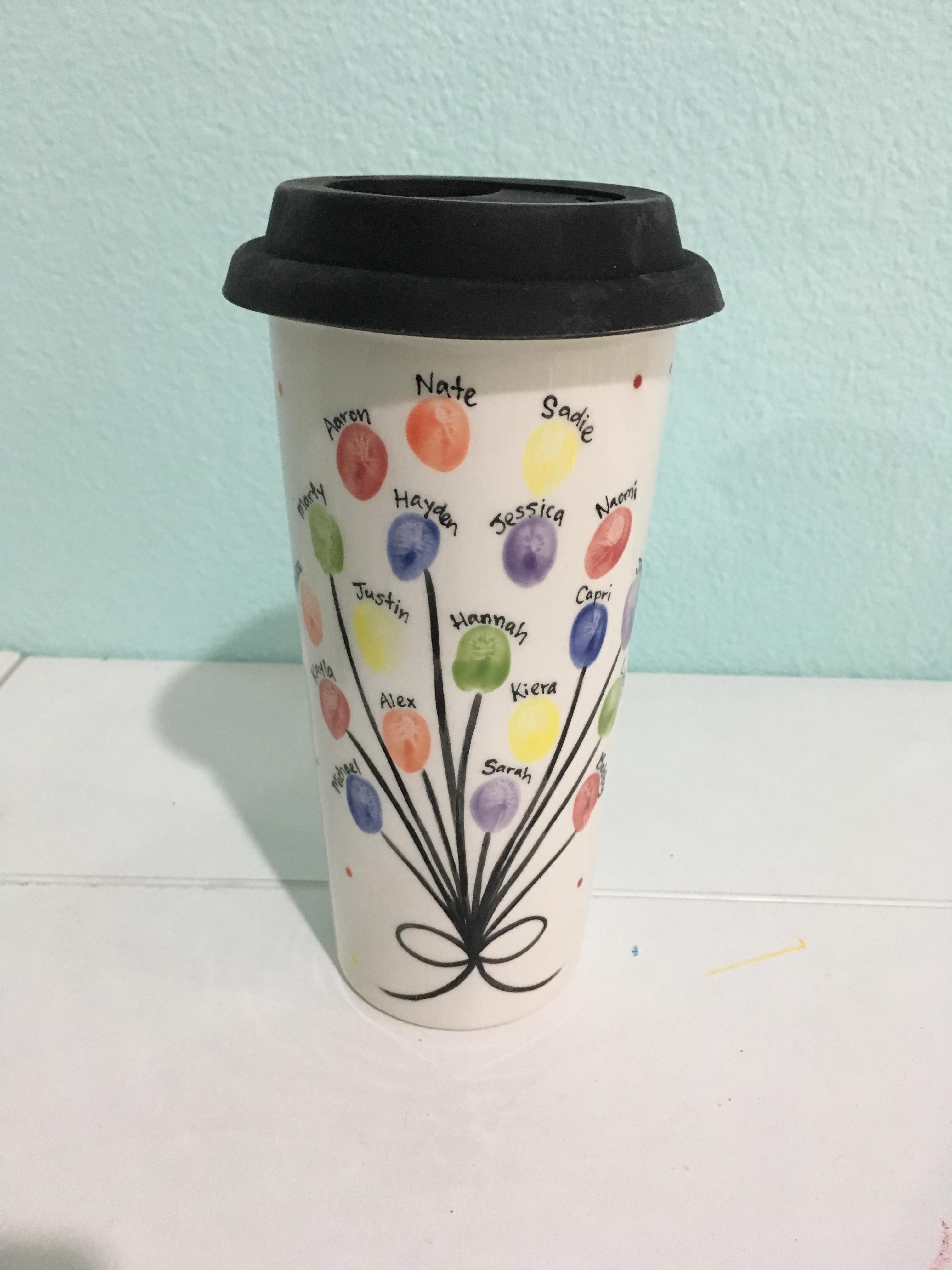 Practical coffee mug