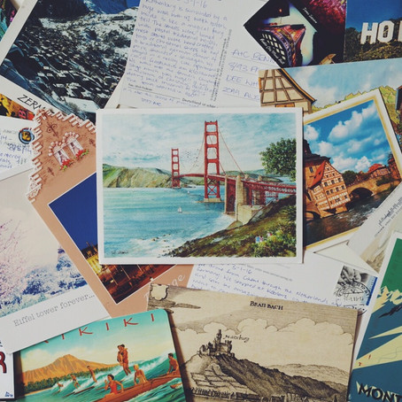 Send yourself Postcards: A unique and personalised way to remember your trip