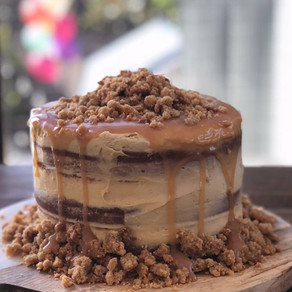 Recipe: Layered Salted Caramel Cake