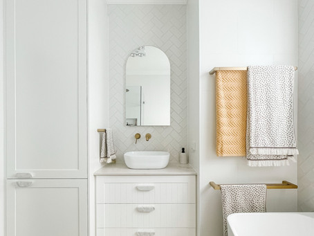 Beautifully functional: Small family bathroom design