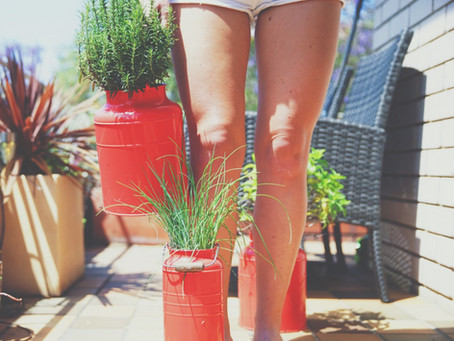 Growing your own herbs is an easy way to improve your eating