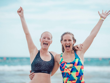 From kiddy pool to 1km ocean swim