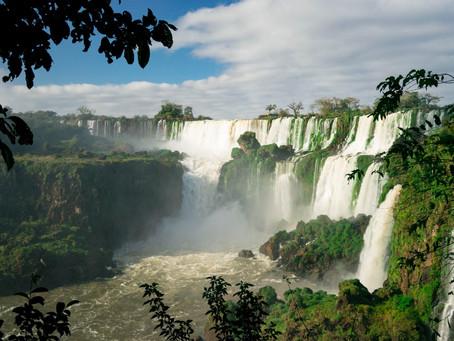 Iguazu Falls. It's nature's wonderland