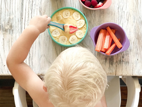 Practical (and beautiful) alternative to plastic dinnerware for kids