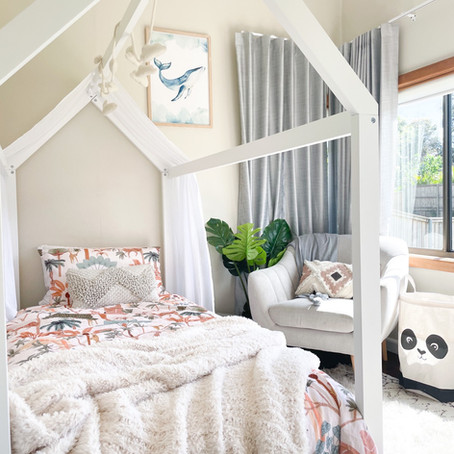 Designing a small room for a toddler