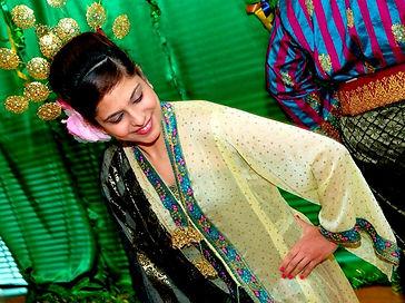 Sweta Rai performing Malaysian dance called ZAPIN