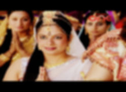 Sweta Rai acting in one of the Indian daily soap operas