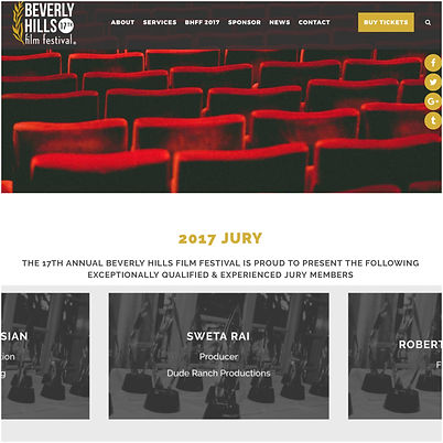 Sweta Rai selected as the Jury of the 17th Beverly Hills Film Festival in Los Angeles