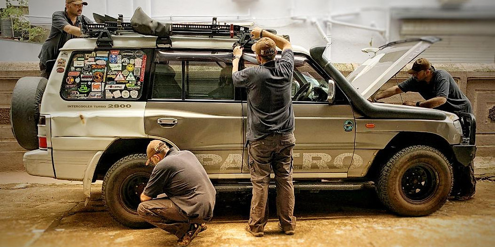 """Pre Offroad Vehicle Preparation and Inspection - A Learn Offroad """"Quickly"""" Workshop"""