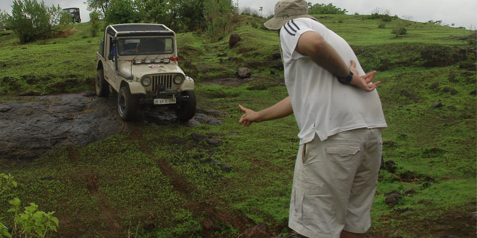 """Offroad Spotting Roles and Rules - A Learn Offroad """"Quickly"""" Workshop"""