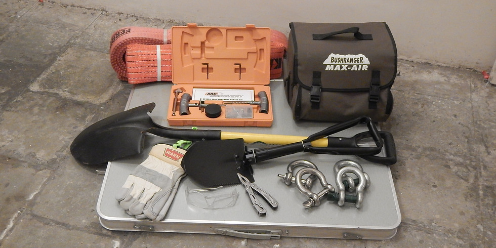 """Essential Offroad Recovery Gear - A Learn Offroad """"Quickly"""" Workshop"""