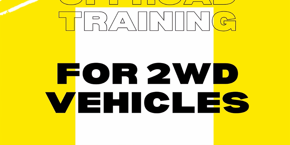Offroad Training for 2WD Vehicles