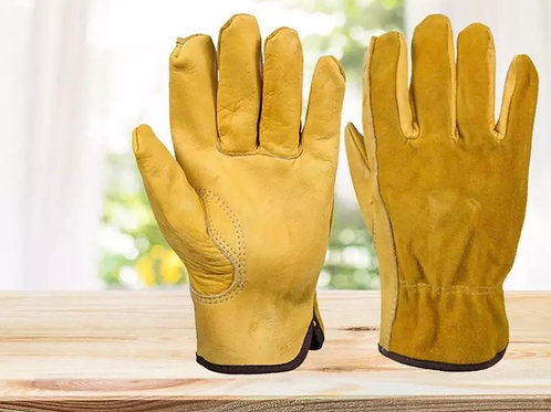 Leather work gloves (XL)