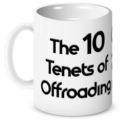 Tenets of Offroading Mug