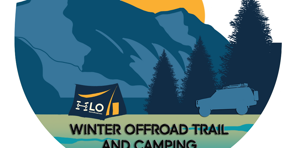 Winter Offroad Trail and Camping