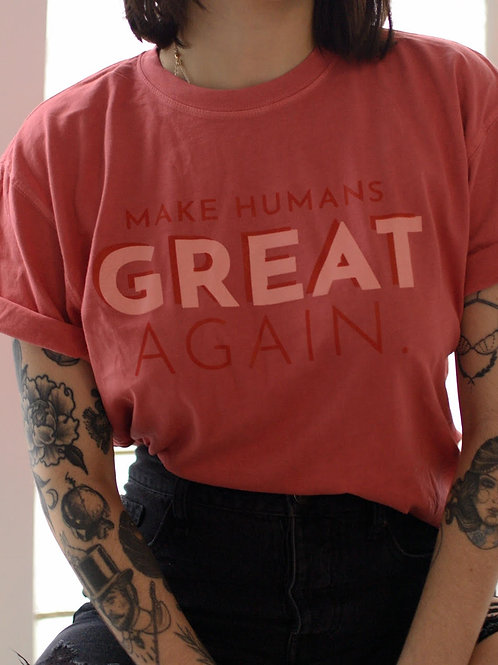 Make Humans Great Again
