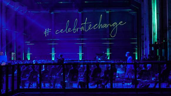 #celebrate change beim Greentech Festival