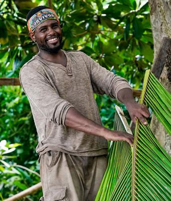 Davie during Survivor