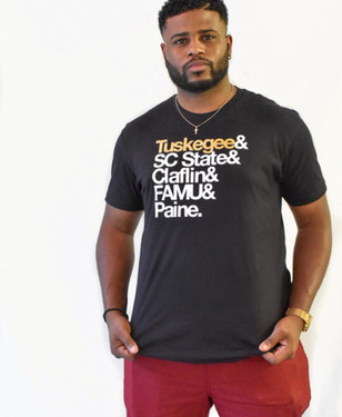 HBCUnity Tee Model