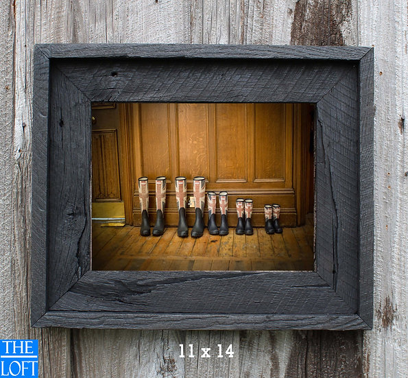 "The Post & Beam 3.5"" - Antique Black"