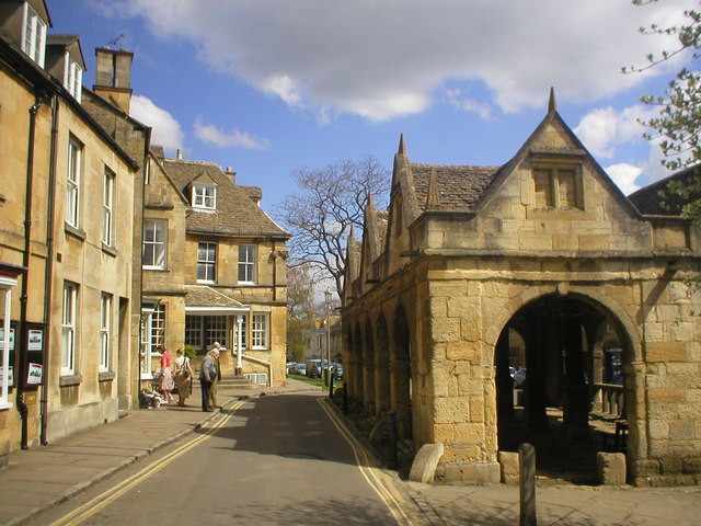 The Old Market Hall, Chipping Campden - Chipping Campden is a small market town in the Cotswolds district of Gloucestershire, England