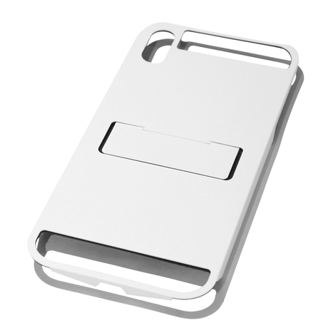 Claustrum Flap MAX iPhone Holder - White