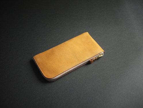 Anchor Bridge Italian Leather Long Zip Wallet