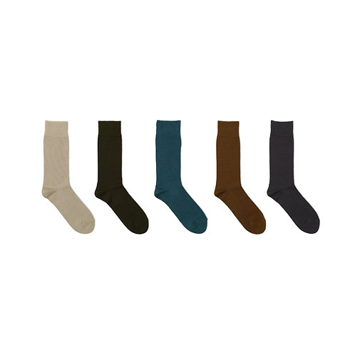 Decka Plain Mercerized Socks