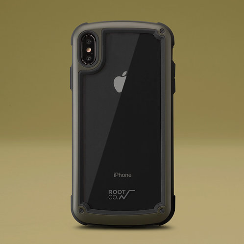 Root Co. Gravity Shock Resist Tough & Basic Case - iPhone XS MAX