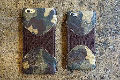 Roberu iPhone 6/6s & 6/6s Plus Case - Green Camouflage