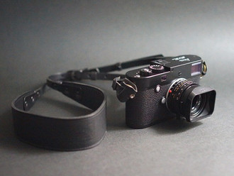 【New Arrival - Anchor Bridge Horween Emboss Leather Camera Strap】