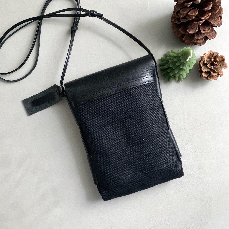Thumbnail: Anchor Bridge Italy Etrsuco Leather Shoulder Pouch