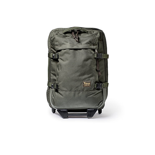 Filson Ballistic Nylon Dryden 2-Wheeled Carry-On Bag - Otter Green