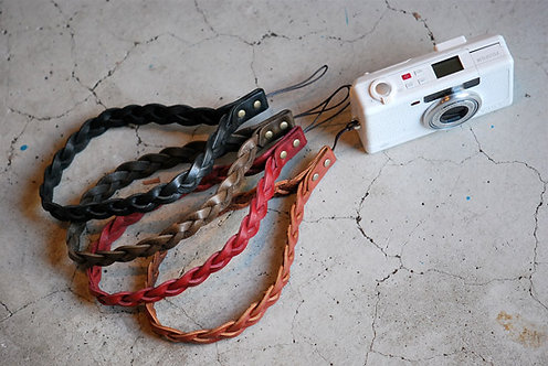 Roberu Braided Leather Hand Strap